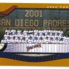 2002 Topps San Diego Padres 21 card team SET