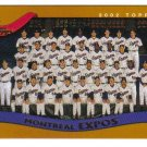 2002 Topps Montreal Expos 19 card team SET
