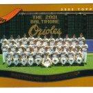 2002 Topps Baltimore Orioles 19 card team SET