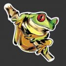 Cool Frog Decal