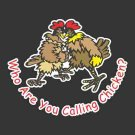 Funny, Two Roosters / Chickens Fighting Decal