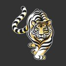 Stalking Tiger Decal