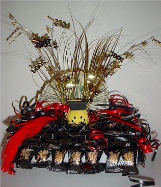 GRADUATION Morter Board Cap Candy Bouquet!