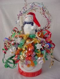 HOLIDAYS Candy Bouquets Great Gift or Centerpiece Halloween Christmas