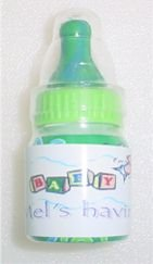 Personalized BABY BOTTLE Shower Favors