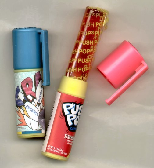 Personalized PUSH POP FAVORS!