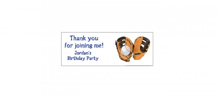30 BASEBALL Lollipop, Sucker Tags Labels, BIRTHDAY PARTY FAVORS