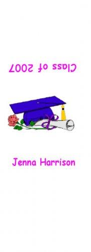 30 Graduation Hershey's Nugget Miniature Wrapper Labels Party Favors #3