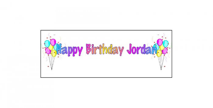 30 Balloon BIRTHDAY CRAYON Wrappers Labels, Kid's Party Favors