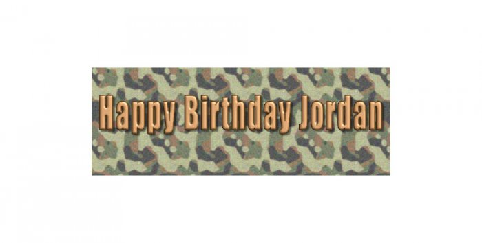 30 BIRTHDAY CRAYON Camouflage  Wrappers Labels, Boy's  Party Favors