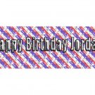 30 BIRTHDAY CRAYON Stars and Stripes Wrappers Labels Kid's Party Favors ,