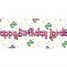 15 BIRTHDAY CRAYON Colorful Bows Wrappers Labels Kid's Party Favors ,