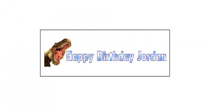 15 BIRTHDAY CRAYON Dinosaurs Wrappers Labels Kid's Party Favors ,