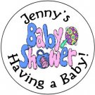 108 Baby Shower  Party Hershey's Chocolate Personalized Kiss Labels  Party Favors #06