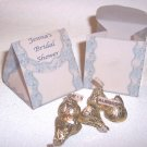 Personalized Favor Boxes for Bridal Shower gifts  SET OF 6