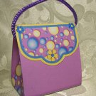 PURSE SHAPED Personalized Favor Birthday or Shower Gift Goodie Boxes SET OF 6