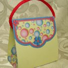 PURSE SHAPE Personalized Favor Bubble Design Shower, Wedding or Birthday Gift Goodie Boxes SET OF 6