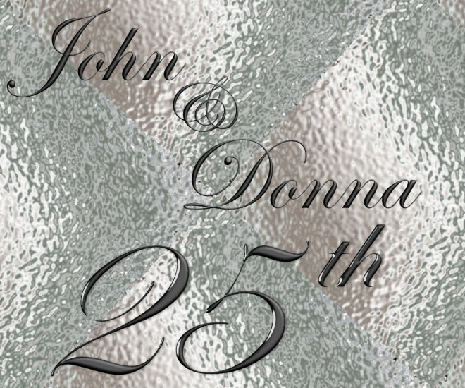 18 Silver 25th Anniversary Wine Bottle labels Party Favors High Gloss Labels