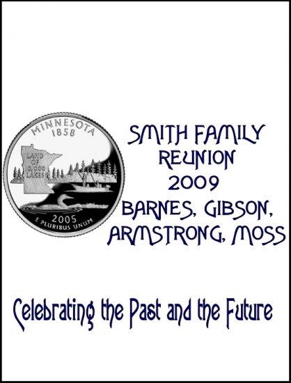 16 Family Reunion State Quarter Lip Balm Chap Stick Wrapper party favor label Personalized