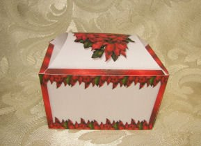 HOLIDAY TREASURE CHEST  Favor Boxes  Party Favors Set of 6