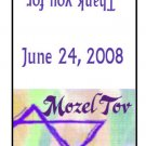 30 Personalized BAR MITZVAH BAT MITZVAH TIC TAC MINTS Wrappers Labels Party Favors