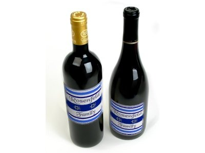 HANUKKAH Wine Bottle labels Party Favors 60 High Gloss Labels