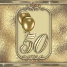 15 Hershey Miniatures Candy Bar Wrapper Labels Golden 50th Anniversary Party Favors