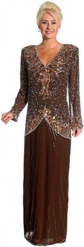 New Silk Chiffon Mother of The Bride Formal Dress 1X-5X