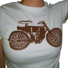 Women's Vintage Motorcycle Tee