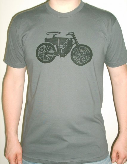 Men's Vintage Motocycle Tee