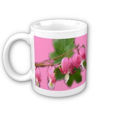 Flowers Bleeding hearts Coffee Mug Cup