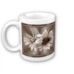 Flowers Daisy Coffee Mug Cup