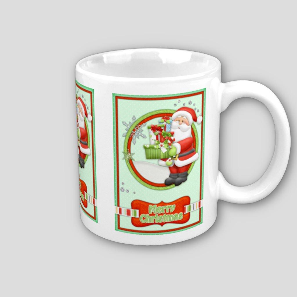 Santa Christmas Holiday Coffee Mug Cup