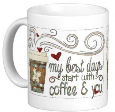 Friendship Gift Coffee Mug Cup