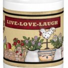 Live Love Laugh Gift Coffee Mug Cup