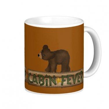 Country Cabin Fever Bear Coffee Mug Cup