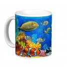 Tropical Fish Sealife Design Coffee Mug Cup