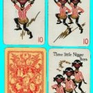 Rare Black Americana Card Game - Bobs y'r Uncle - Waddington 1935