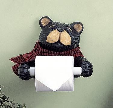 Northwoods Bear Tissue Holder