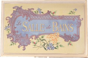 Romantic Bath Plaque-LeSalle