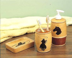 Western 3 PC Bath Set