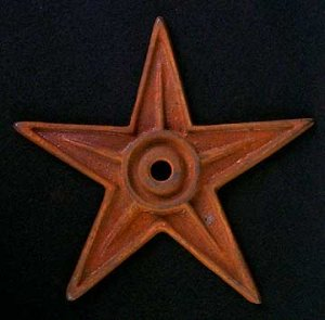 Cast Iron Building Star