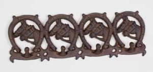 Horseshoe Cast Iron Coatrack