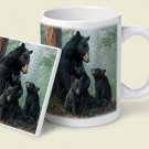 Black Bears Mug & Coaster