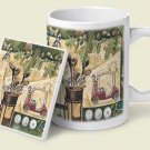 Golf Collage Mug & Coaster