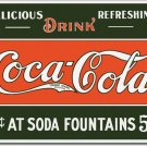 Coke 5 Cents at Fountain Sign