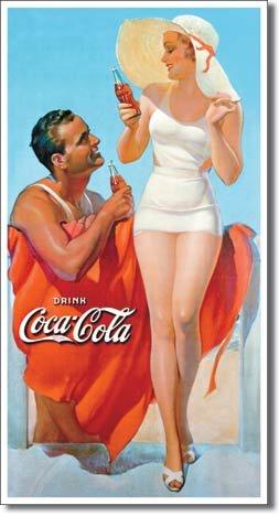 Coke Beach Sign