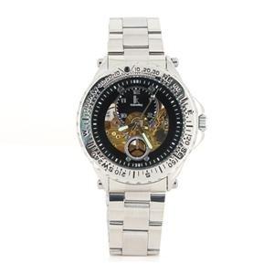 98242G Men's Mechanical Skeleton Watch (Golden)