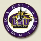 LSU Tigers Wall Clock