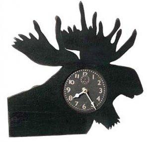 Moose Wood Clock